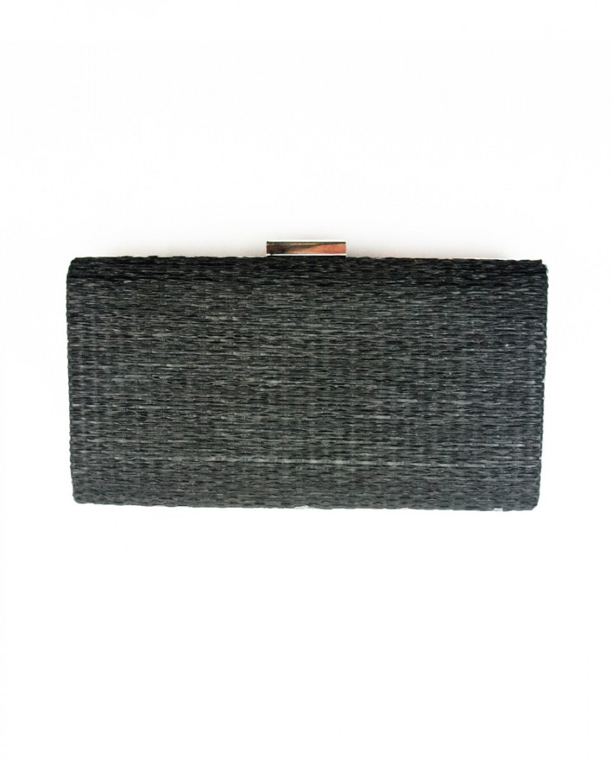 Clutch Gris Oscuro